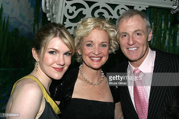 Lily Rabe Christine Ebersole and Robert Harling playwright