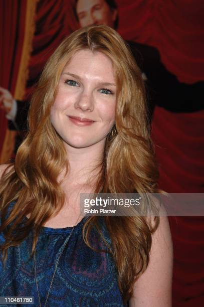 Lily Rabe during 'Martin Short Fame Becomes Me' Broadway Opening Night Arrivals at Bernard B Jacobs Theatre in New York New York United States