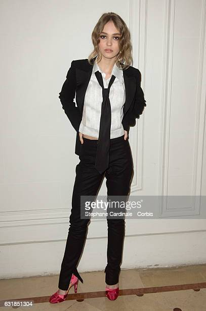 Lily Rose Depp attends the 'Cesar Revelations 2017' on January 16 2017 in Paris France