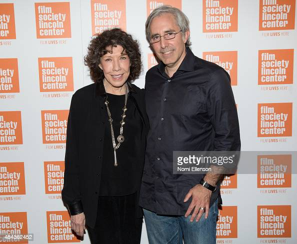Lily Tomlin and Paul Weitz attend The Film Society of Lincoln Center 2015 Summer Talks Series 'Grandma' at Elinor Bunin Munroe Film Center on August...