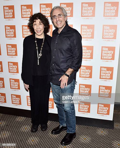 Lily Tomlin and Paul Weitz attend the Film Society of Lincoln Center 2015 Summer Talks Series 'Grandma' at the Elinor Bunin Munroe Film Center on...