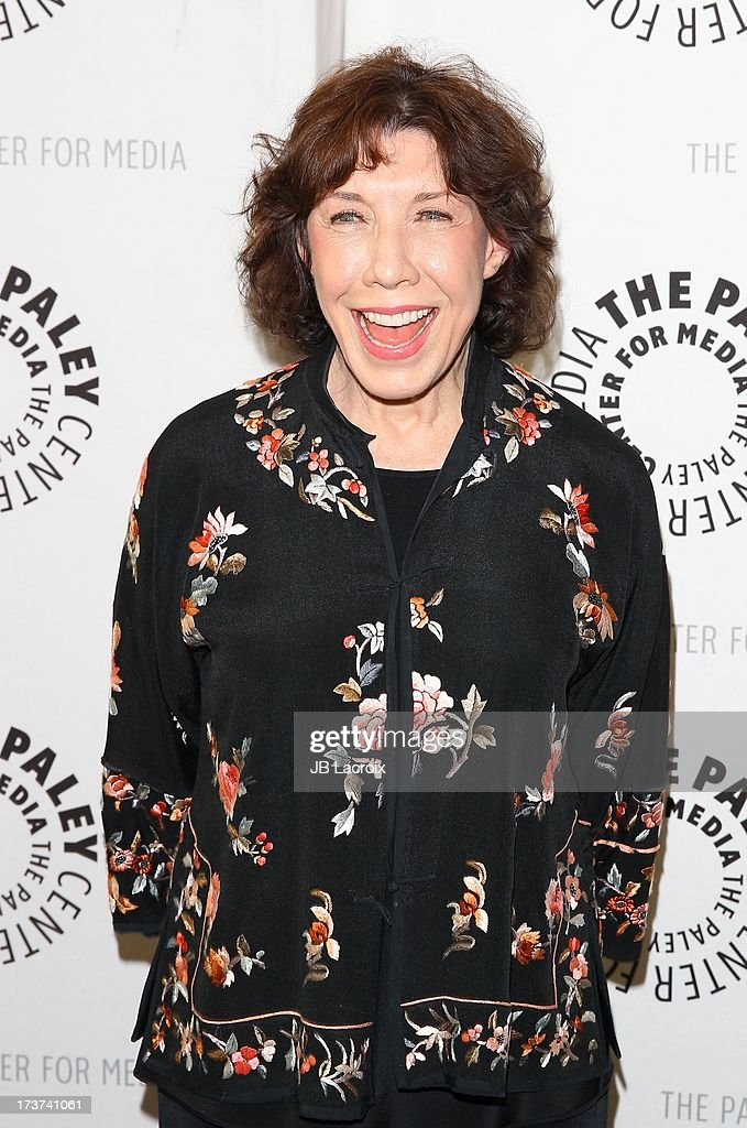 Lily Tomlin attends 'An Evening With Web Therapy: The Craze Continues...' held at The Paley Center for Media on July 16, 2013 in Beverly Hills, California.
