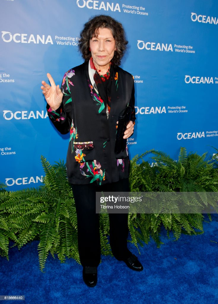 Lily Tomlin attends the 10th annual Oceana SeaChange Summer Party at Private Residence on July 15, 2017 in Laguna Beach, California.
