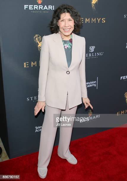 Lily Tomlin attends the Television Academy's Performers Peer Group Celebration on August 22 2017 in Los Angeles California