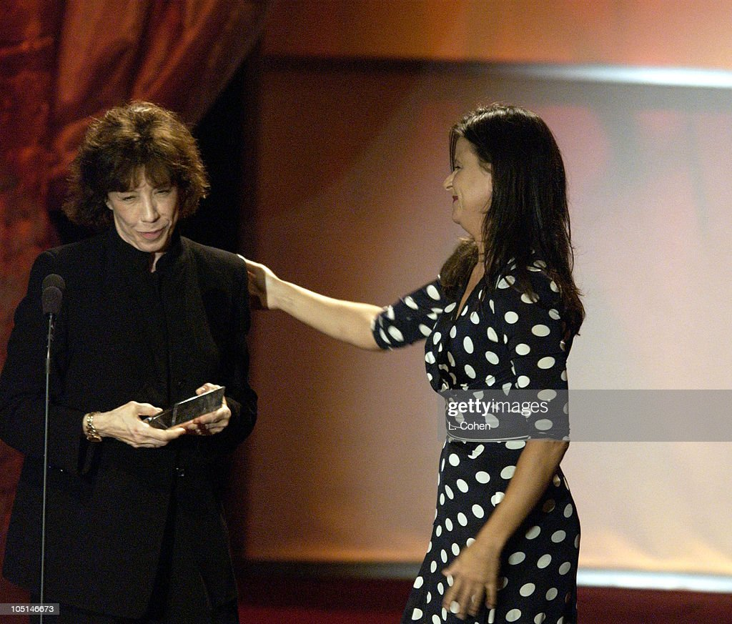 Lily Tomlin Honored with the Lucy Award with Tracey Ullman