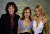 Lily Tomlin Isabelle Huppert and Naomi Watts during Details Magazine and GUESS I Heart Huckabees LA Premiere After Party at The Grove in Los Angeles...