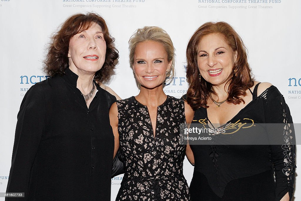 <a gi-track='captionPersonalityLinkClicked' href=/galleries/search?phrase=Lily+Tomlin&family=editorial&specificpeople=208236 ng-click='$event.stopPropagation()'>Lily Tomlin</a>, <a gi-track='captionPersonalityLinkClicked' href=/galleries/search?phrase=Kristin+Chenoweth&family=editorial&specificpeople=207096 ng-click='$event.stopPropagation()'>Kristin Chenoweth</a> and <a gi-track='captionPersonalityLinkClicked' href=/galleries/search?phrase=Kathy+Najimy&family=editorial&specificpeople=213513 ng-click='$event.stopPropagation()'>Kathy Najimy</a> attend the 2014 National Corporate Theatre Fund Chairman's Awards Gala at The Pierre Hotel on March 31, 2014 in New York City.