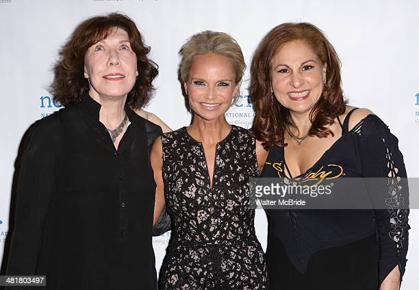 Lily Tomlin Kristin Chenoweth and Kathy Najimy attends the 2014 National Corporate Theatre Fund Chairman's Awards Gala at The Pierre Hotel on March...