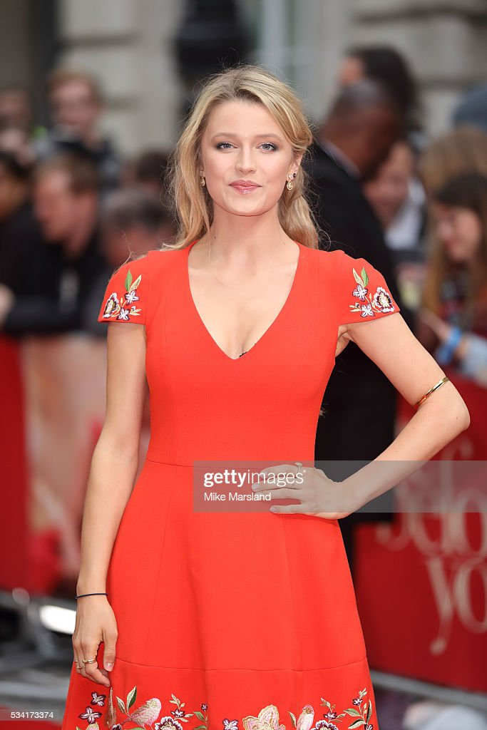 Lily Travers attends the European film premiere 'Me Before You' at The Curzon Mayfair on May 25, 2016 in London, England.