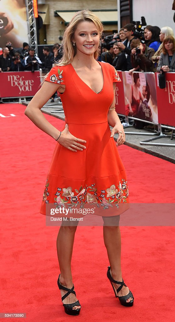 Lily Travers attends the European Premiere of 'Me Before You' at The Curzon Mayfair on May 25, 2016 in London, England.