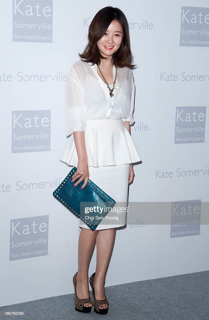 Lim Jung-Eun attends the 'Kate Somerville' Launch Event at Park Hyatt Seoul on February 5, 2013 in Seoul, South Korea.