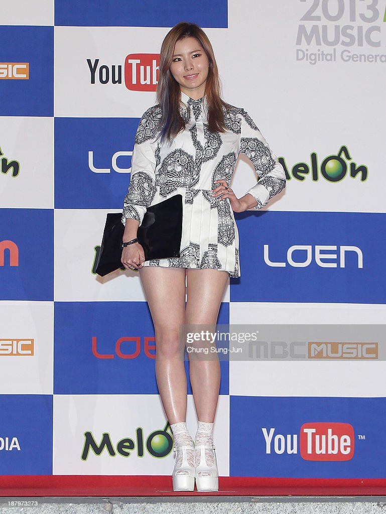 Lim Kim arrive for the MelOn Music Awards at Olympic Gymnasium on November 14, 2013 in Seoul, South Korea.