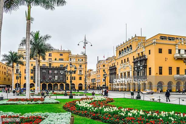 Lima, Pérou-la Plaza de Armas