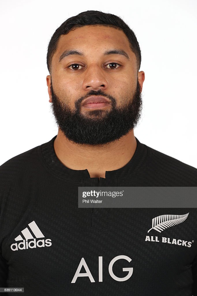 <a gi-track='captionPersonalityLinkClicked' href=/galleries/search?phrase=Lima+Sopoaga&family=editorial&specificpeople=7196726 ng-click='$event.stopPropagation()'>Lima Sopoaga</a> of the All Blacks poses for a portrait during a New Zealand All Black portrait session on May 29, 2016 in Auckland, New Zealand.