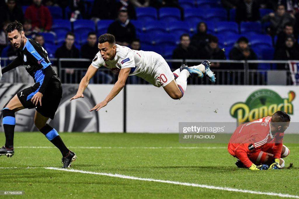Olympique Lyon v Apollon Limassol - UEFA Europa League