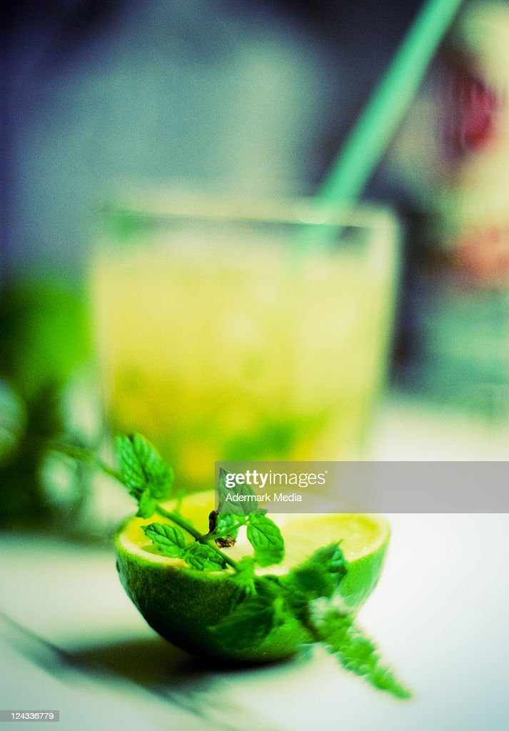 Lime and mint : Stock Photo