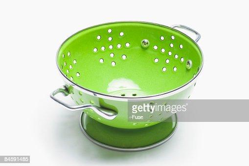 Lime Green Colander