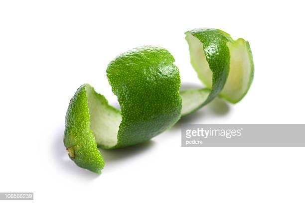 Peau de citron vert