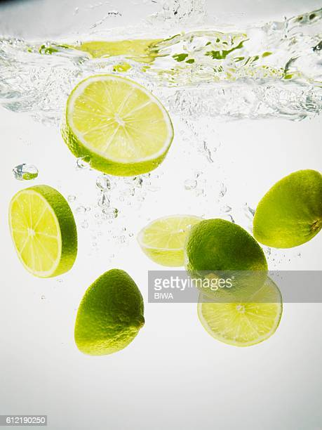 Lime Slices in Water