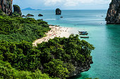 Summery beach days in Thailand's Krabi region.