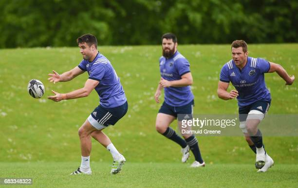 Limerick Ireland 15 May 2017 Conor Murray of Munster during squad training at the University of Limerick in Limerick