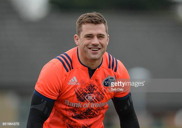 Limerick Ireland 18 January 2017 CJ Stander of Munster during squad training at University of Limerick in Limerick