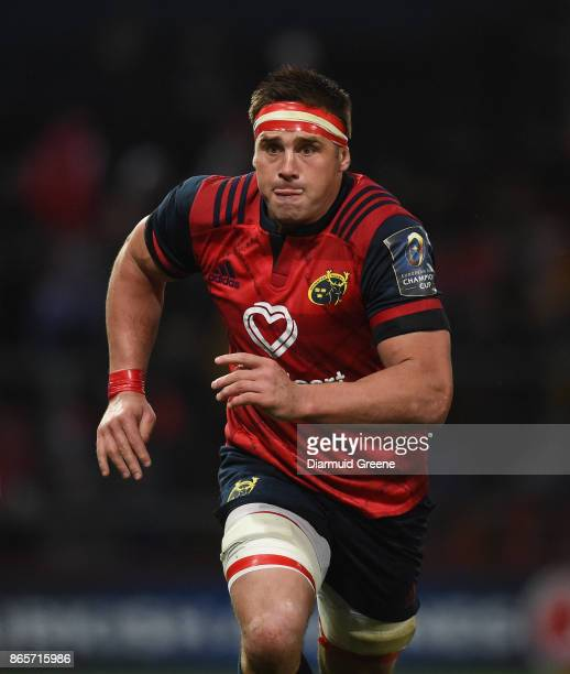 Limerick Ireland 21 October 2017 CJ Stander of Munster during the European Rugby Champions Cup Pool 4 Round 2 match between Munster and Racing 92 at...