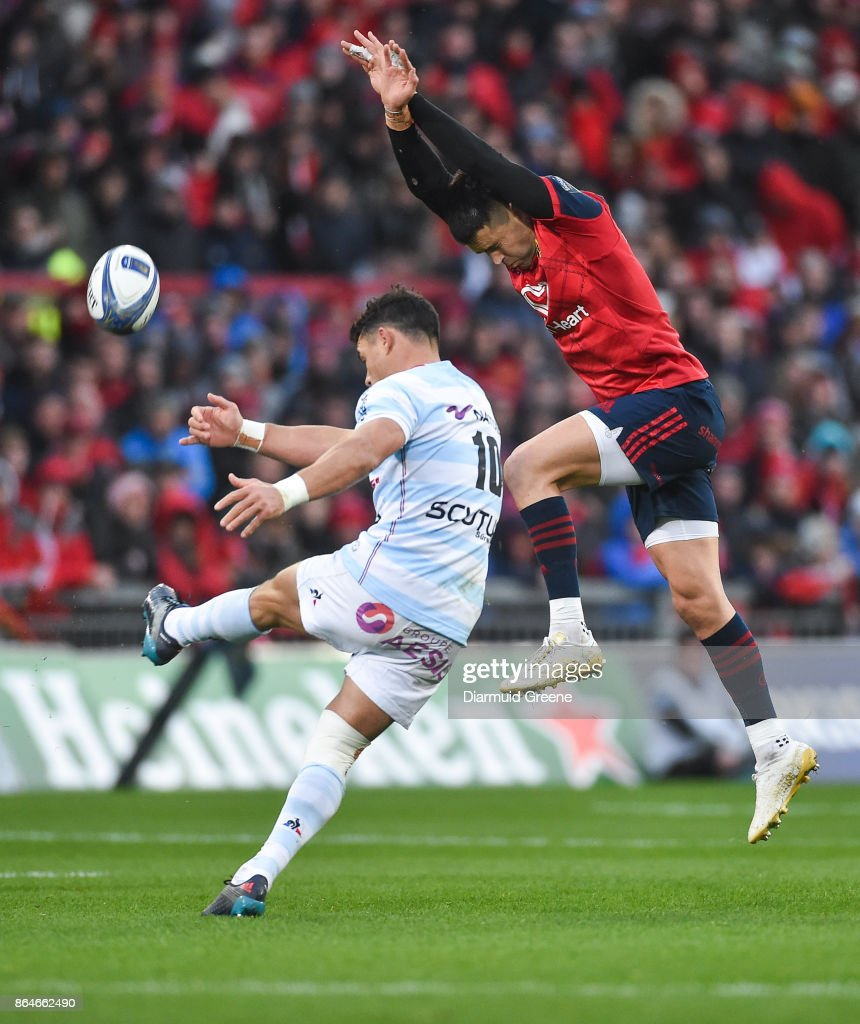 Munster Rugby v Racing 92 -  Champions Cup