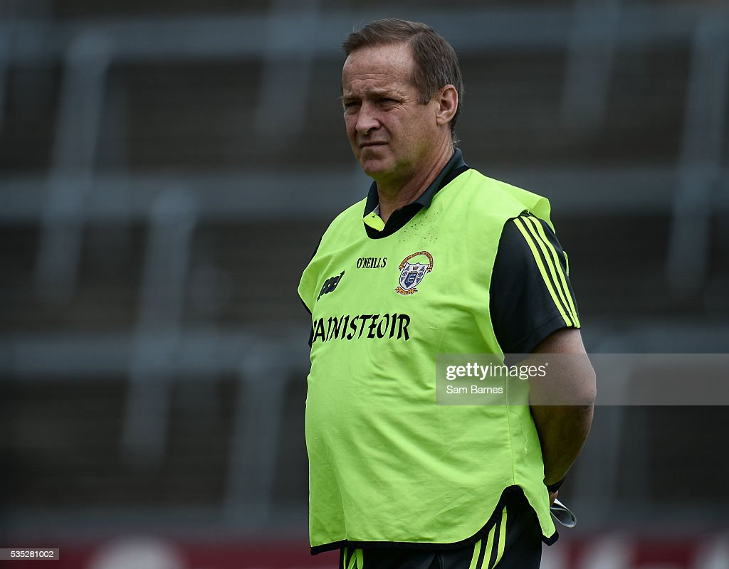 Limerick , Ireland - 29 May 2016; Clare manager Colm Collins during the Munster GAA Football Senior Championship quarter-final between Limerick and Clare at Gaelic Grounds in Limerick.