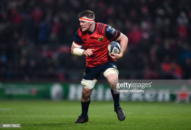 Limerick Ireland 9 December 2017 Peter O'Mahony of Munster during the European Rugby Champions Cup Pool 4 Round 3 match between Munster and Leicester...
