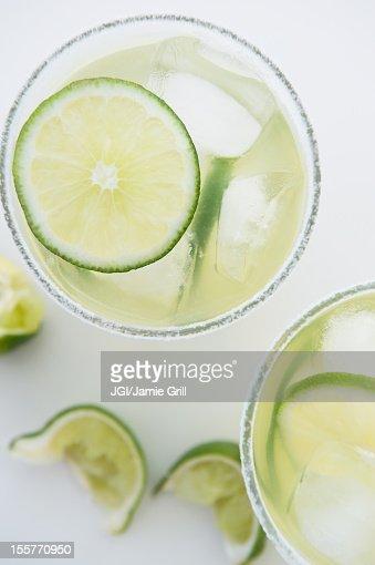 Limes in margaritas