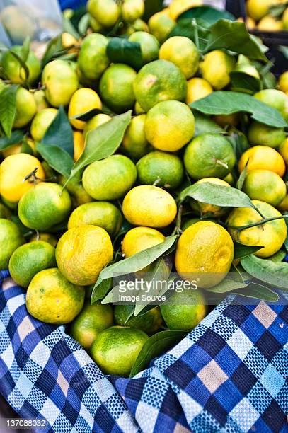 Limes on stall, Oludeniz market, Turkey