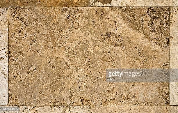 Fond de tuiles de pierre calcaire-Détail