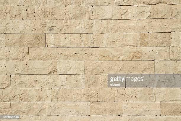 Mur de calcaire