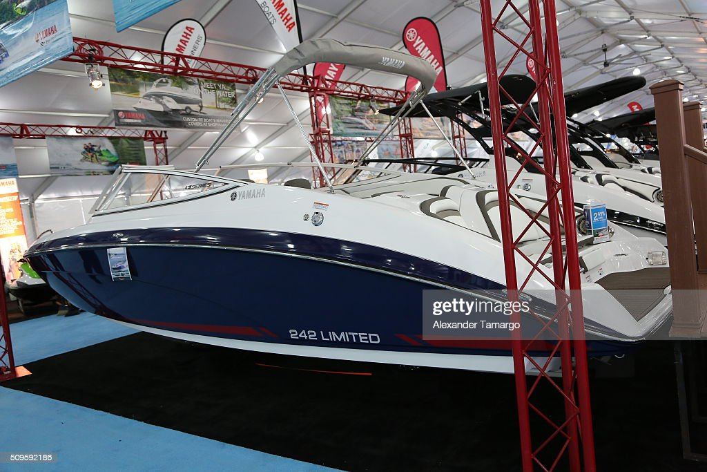 Limited at the Miami International Boat Show on February 11, 2016 in Miami, Florida.