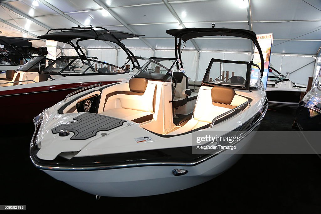 Limited S at the Miami International Boat Show on February 11, 2016 in Miami, Florida.
