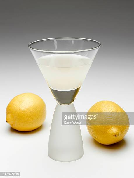 limoncello and two lemons