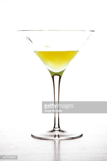 Limoncello on martini glass