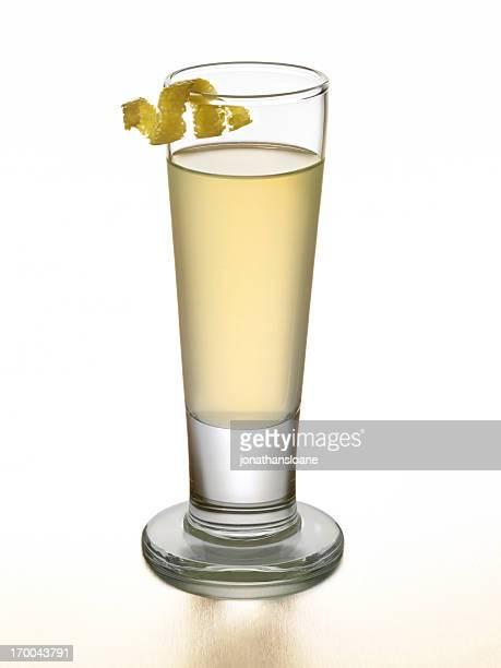 Licor de lemoncello o limón