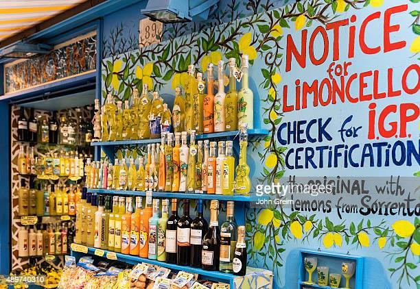 Limoncello shop