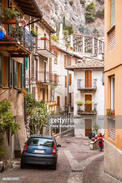 Limone sul Garda city in Italy