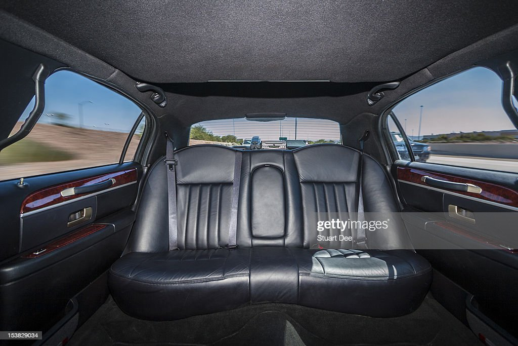 Limousine interior : Stock Photo