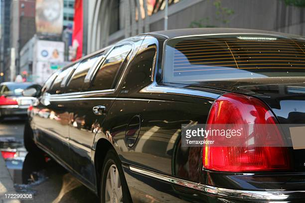 Limousine On Street, Close-Up