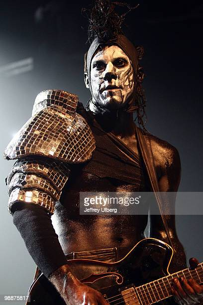 Limp Bizkit guitarist Wes Borland performs at the Gramercy Theatre on May 5 2010 in New York City