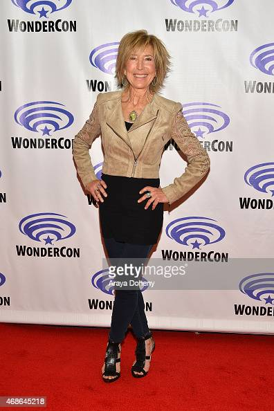 Lin Shaye attends 'Insidious Chapter 3' Cast and Filmmakers press line at Anaheim Convention Center on April 4 2015 in Anaheim California