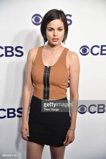 Lina Esco attends the 2017 CBS Upfront on May 17 2017 in New York City