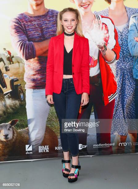 Lina Larissa Strahl attends the Bibi and Tina photo call and award reception at Atelier on June 6 2017 in Berlin Germany