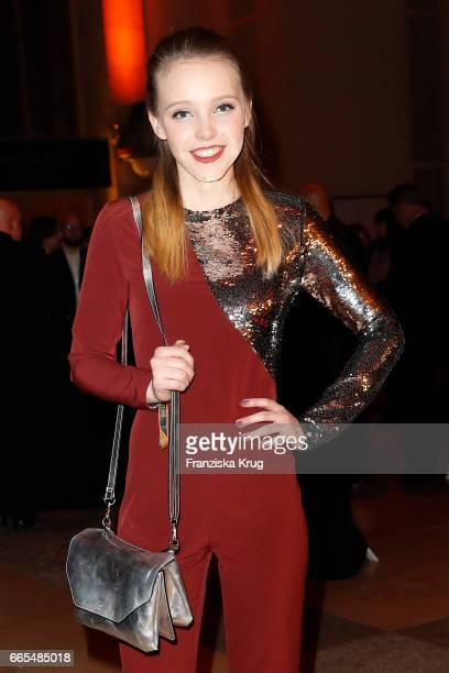 Lina Larissa Strahl attends the Echo award after show party on April 6 2017 in Berlin Germany