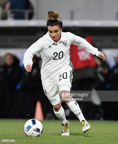 Lina Magull of Germany during the women's international friendly match between Germany and Norway at community4you ARENA on November 29 2016 in...