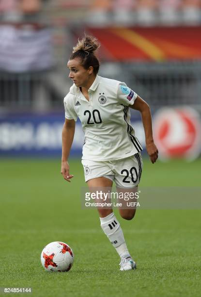 Lina Magull of Germany in action during the UEFA Women's Euro 2017 Quarter Final match between Germany and Denmark at Sparta Stadion on July 29 2017...